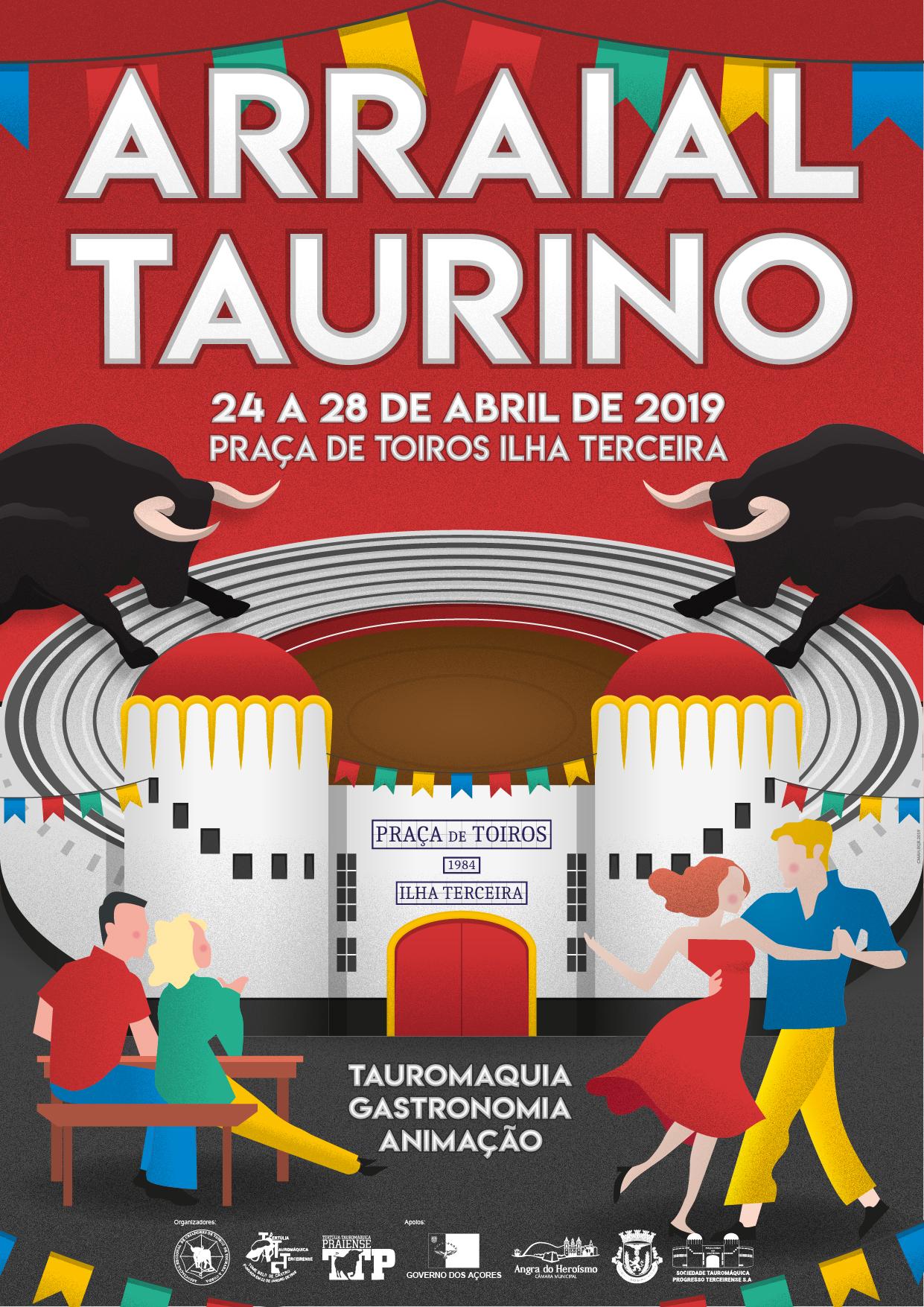 Cartaz Arraial Taurino